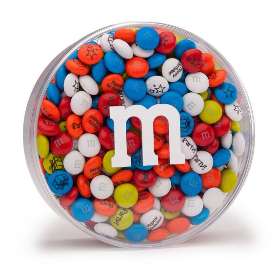 Birthday Custom M & M'S Acrylic