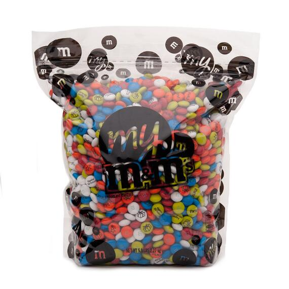 Birthday Custom M & M'S 5lb Bulk Candy Bag