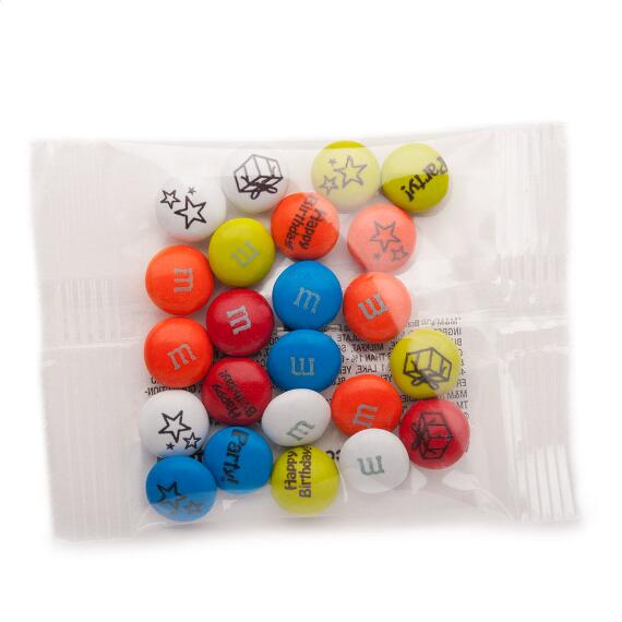 Birthday Custom M & M'S Party Favor Pack
