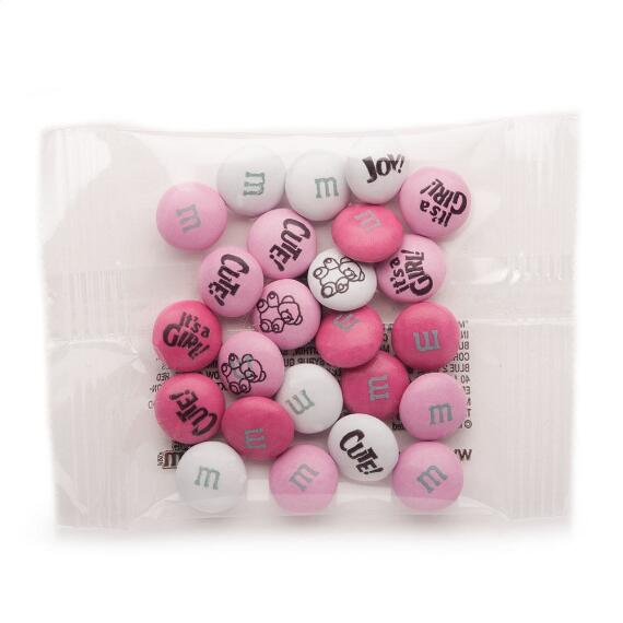 Baby Girl Custom M & M'S Party Favor Pack