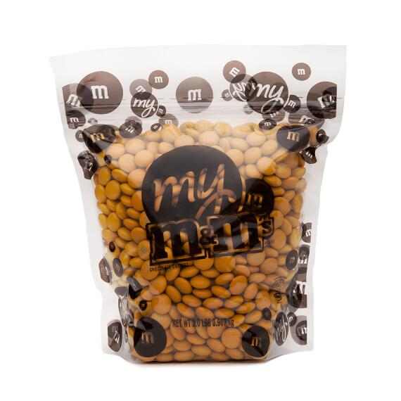 Gold M & M'S Bulk Candy Bag (2lb)