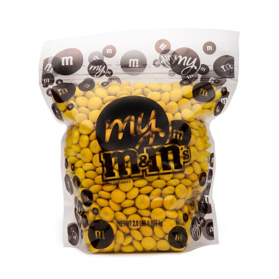 Yellow M & M'S Bulk Candy Bag (2lb)
