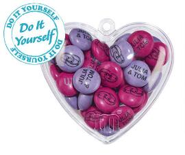 Set of 1.5kg Bag + 40 do it yourself hearts
