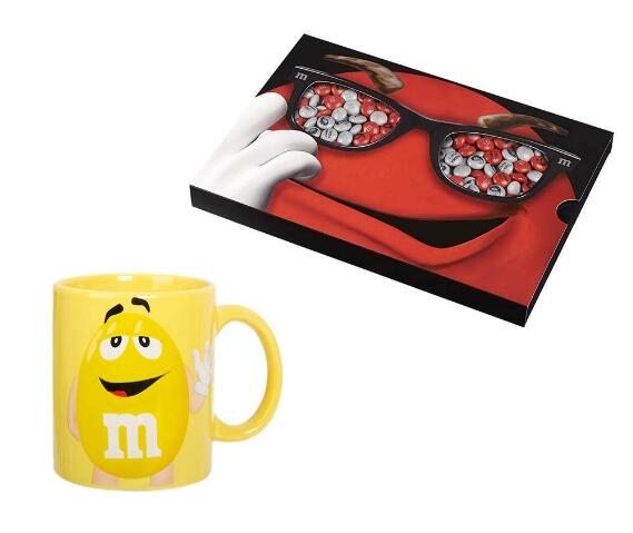 M&M's Box 400 g + Yellow Mug