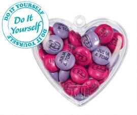 Set of 1.5 kg Bag + 40 do it yourself hearts