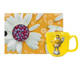 SWEET GIFT BOX 400 G + YELLOW MUG