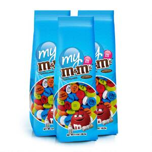 3 Personalized M&M'S Candy Bags