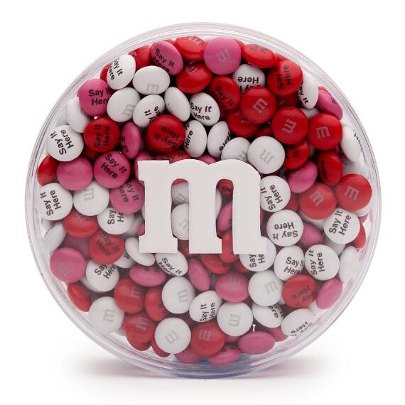 Personalized M&M'S® Round Acrylic (8-oz)