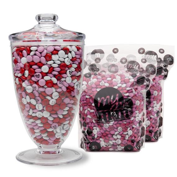 Candy Table Apothecary Jar & Bulk M&M'S® (10-lb Bag)