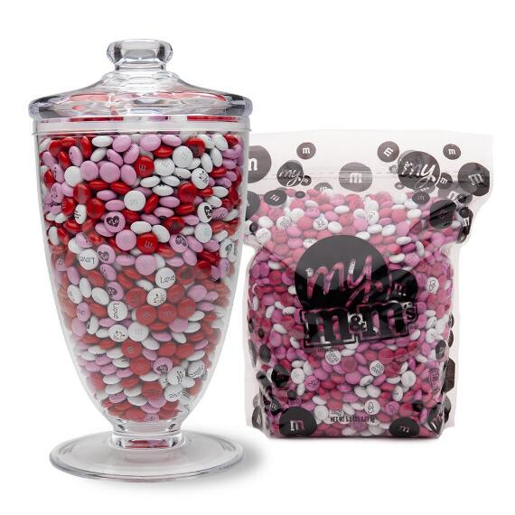 Candy Table Apothecary Jar & Bulk M&M'S® (5-lb Bag)