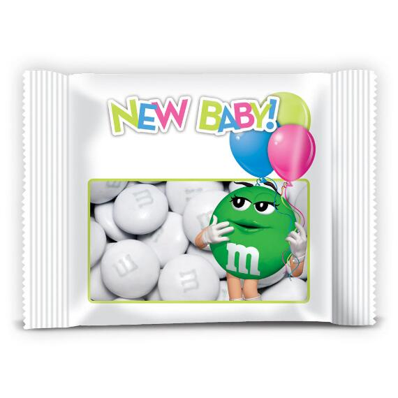 Personalized Baby Shower Favor Packs with M&M'S®