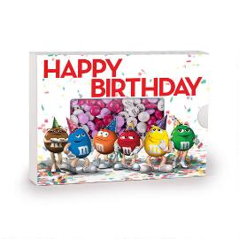 M&M'S® Characters Chocolate Birthday Gift Box