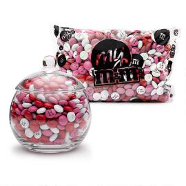 Glass Candy Jar & Personalized M&M'S®