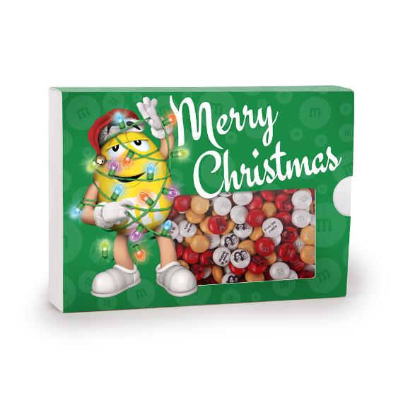 MY M&M'S® Merry Christmas Gift Box