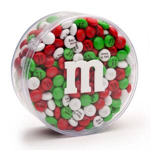 Personalized M&M'S Round Acrylic (1-lb)