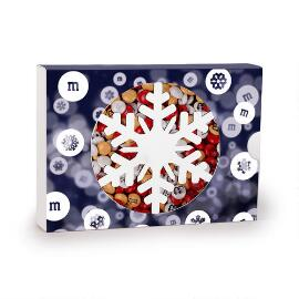MY M&M'S® Snowflake Box