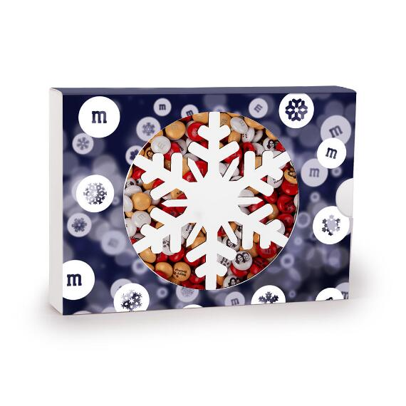 MY M&M'S® Snowflake Gift Box