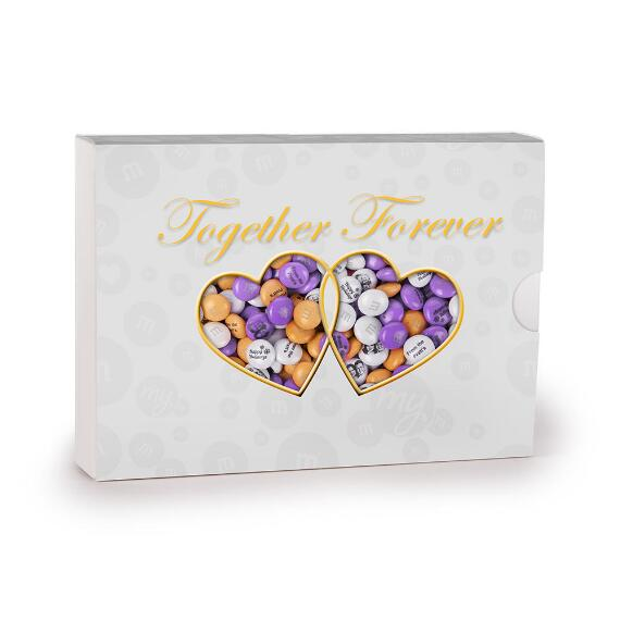 Together Forever Personalized Candy Gift Box