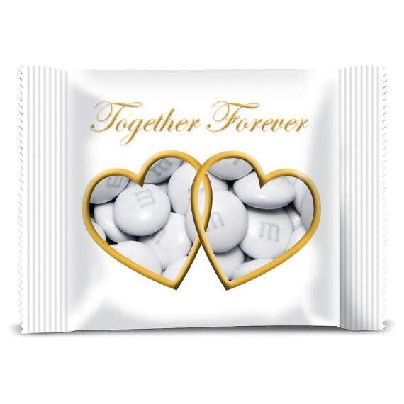 Personalized Chocolate Wedding Favor packs with M&M'S®