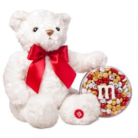 MY M&M'S® Acrylic and White Bear