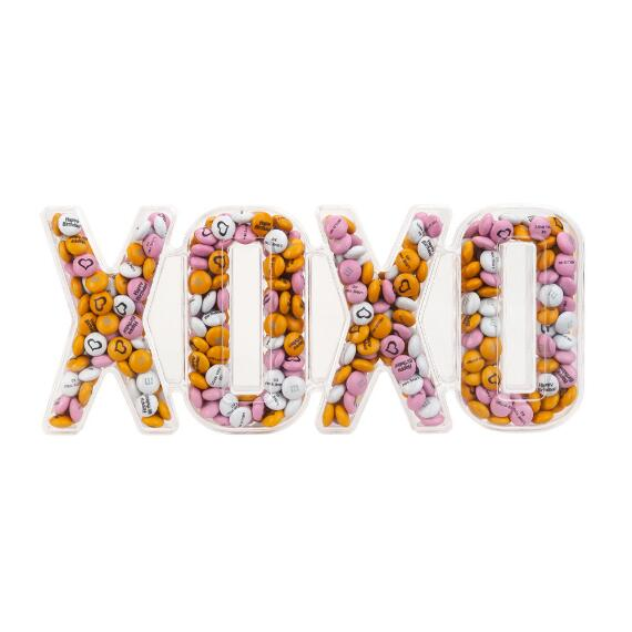 XOXO Candy Box with Personalized M&M'S®