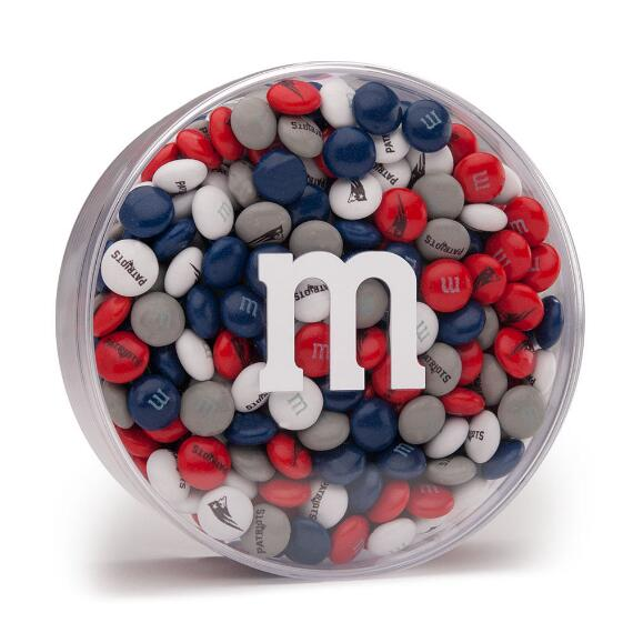 NFL M&M'S Acrylic (8oz) - New England Patriots