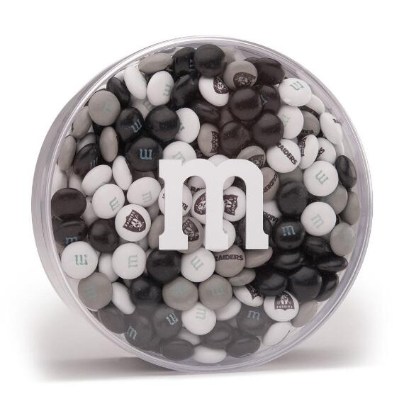 NFL M&M'S Acrylic (8oz) - Oakland Raiders