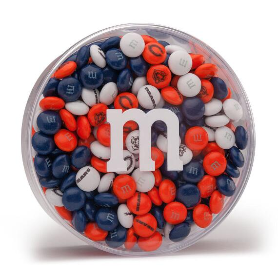 NFL M&M'S Acrylic (8oz) - Chicago Bears