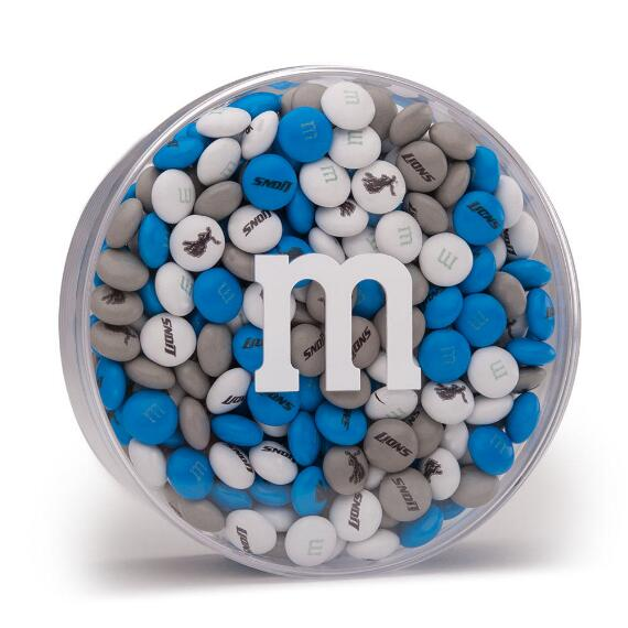 NFL M&M'S Acrylic (8oz) - Detroit Lions