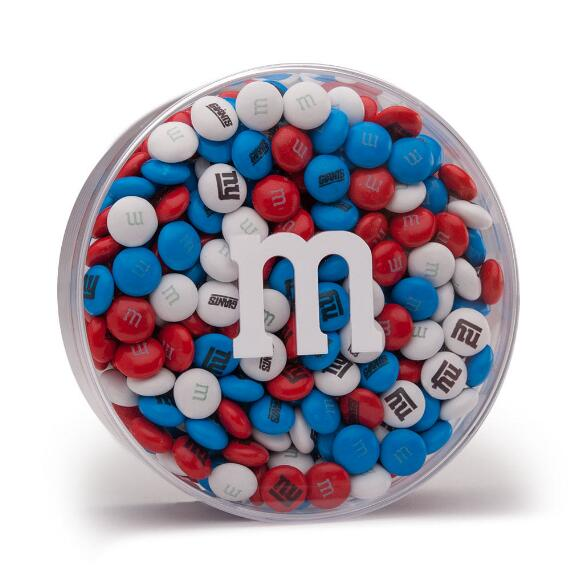NFL M&M'S Acrylic (16oz) - New York Giants