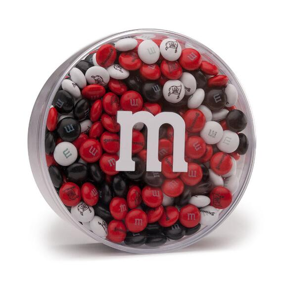 NFL M&M'S Acrylic (8oz) - Tampa Bay Buccaneers
