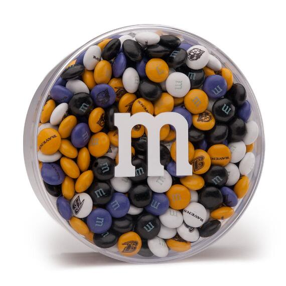 NFL M&M'S Acrylic (8oz) - Baltimore Ravens