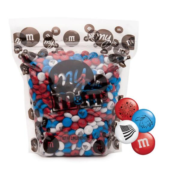 Freedom M&M'S® Candy Blend (2-lb Bag)
