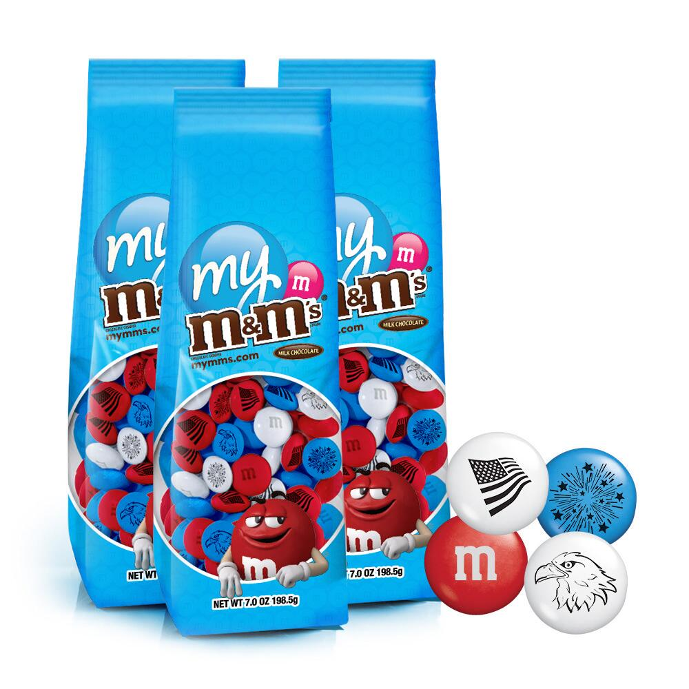 3 Freedom M&M'S® Candy Bags