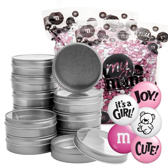 Occasion DIY Silver Tin Kit (96) - Baby Girl Blend