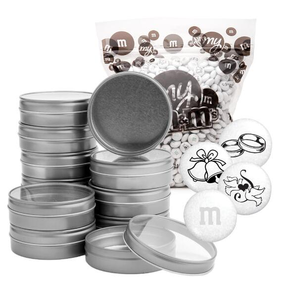 Wedding Blend DIY Silver Tin Kit (24 Count)