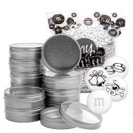 Wedding Blend DIY Silver Tin Kit (48 Count)