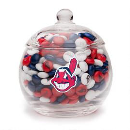 Cleveland Indians Candy Jar & M&M'S®