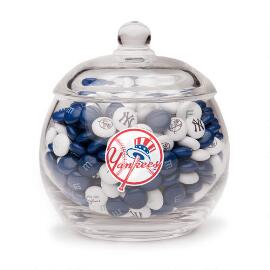 New York Yankees Candy Jar & M&M'S®