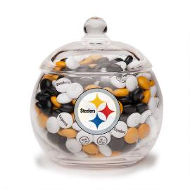 NFL Glass Candy Bowl - Pittsburgh Steelers