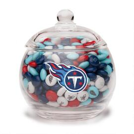 NFL Glass Candy Bowl - Tennessee Titans