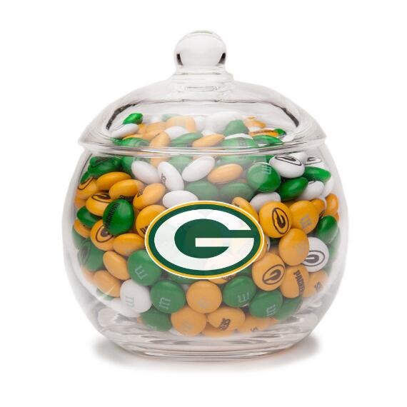 NFL Glass Candy Bowl - Green Bay Packers