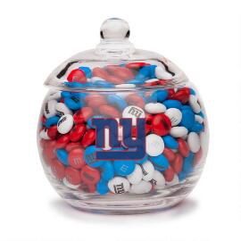 NFL Glass Candy Bowl - New York Giants