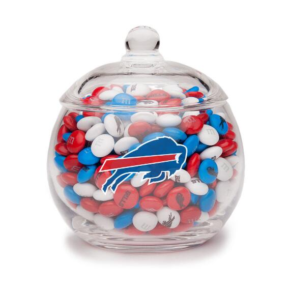 NFL Glass Candy Bowl - Buffalo Bills