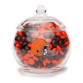 NFL Glass Candy Bowl - Cleveland Browns
