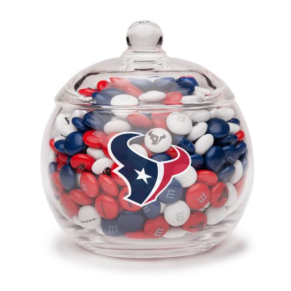 NFL Glass Candy Bowl - Houston Texans