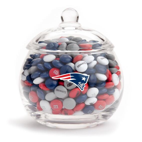 NFL Glass Candy Bowl - New England Patriots
