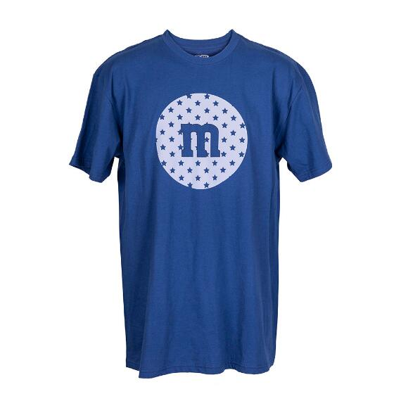 Men's M&M'S® Blue Star M Logo Tee Shirt