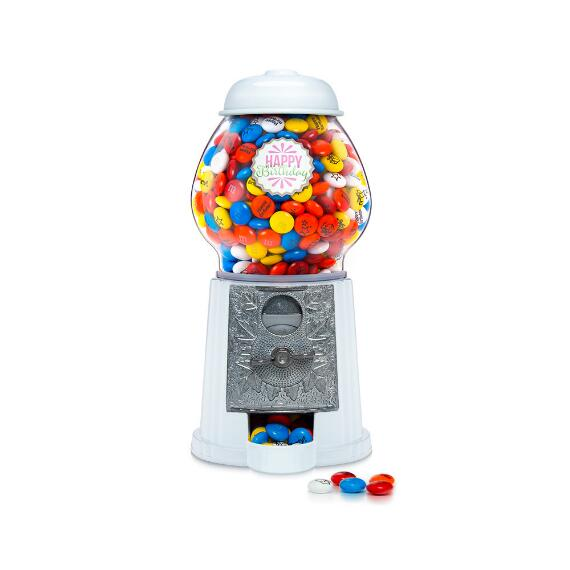 Happy Birthday Dispenser with M&M'S® Candies - Pink