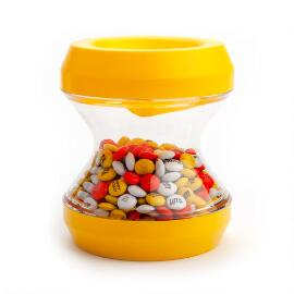 Yellow M&M'S® Flip'M Candy Dispenser